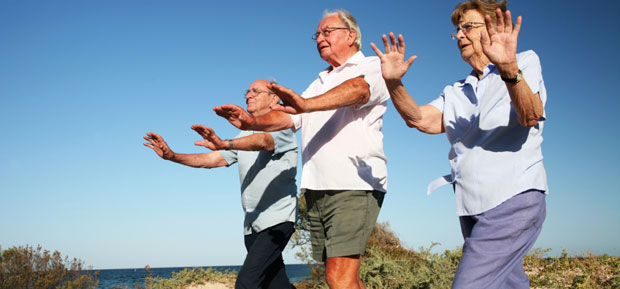 Tai chi improves psychological wellbeing