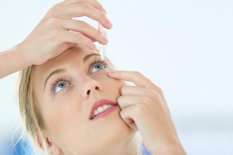 Dry eyes and irritation