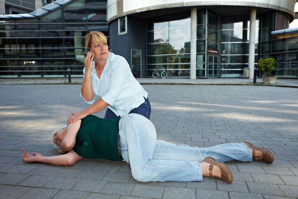Seizures: first aid