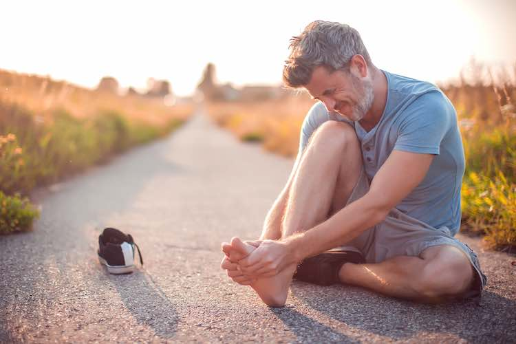 Foot and lower leg pain
