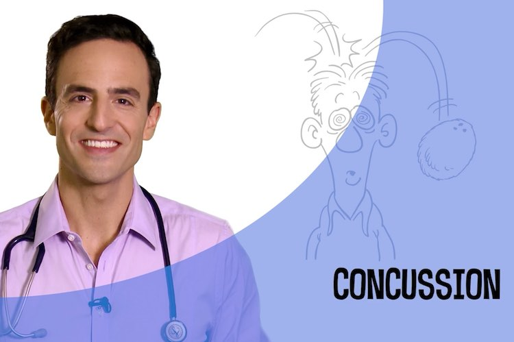 Video: Concussion - Dr Golly