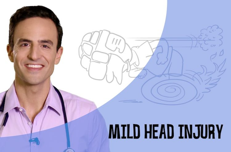 Video: Mild head injury - Dr Golly