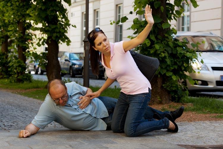 Heart attack and cardiac arrest: emergency treatment