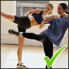 kick boxing helps improve bone strength