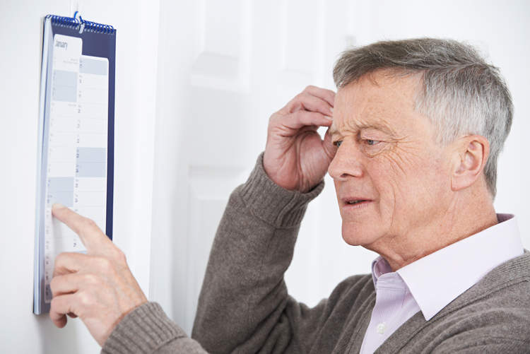 memory impairment commonly experienced by individuals with dementia