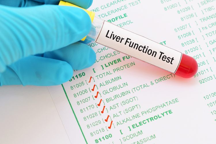 Liver function testing