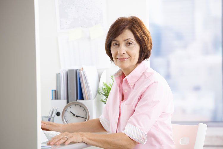 mature working woman