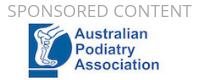 Sponsored Content: Australian Podiatry Association